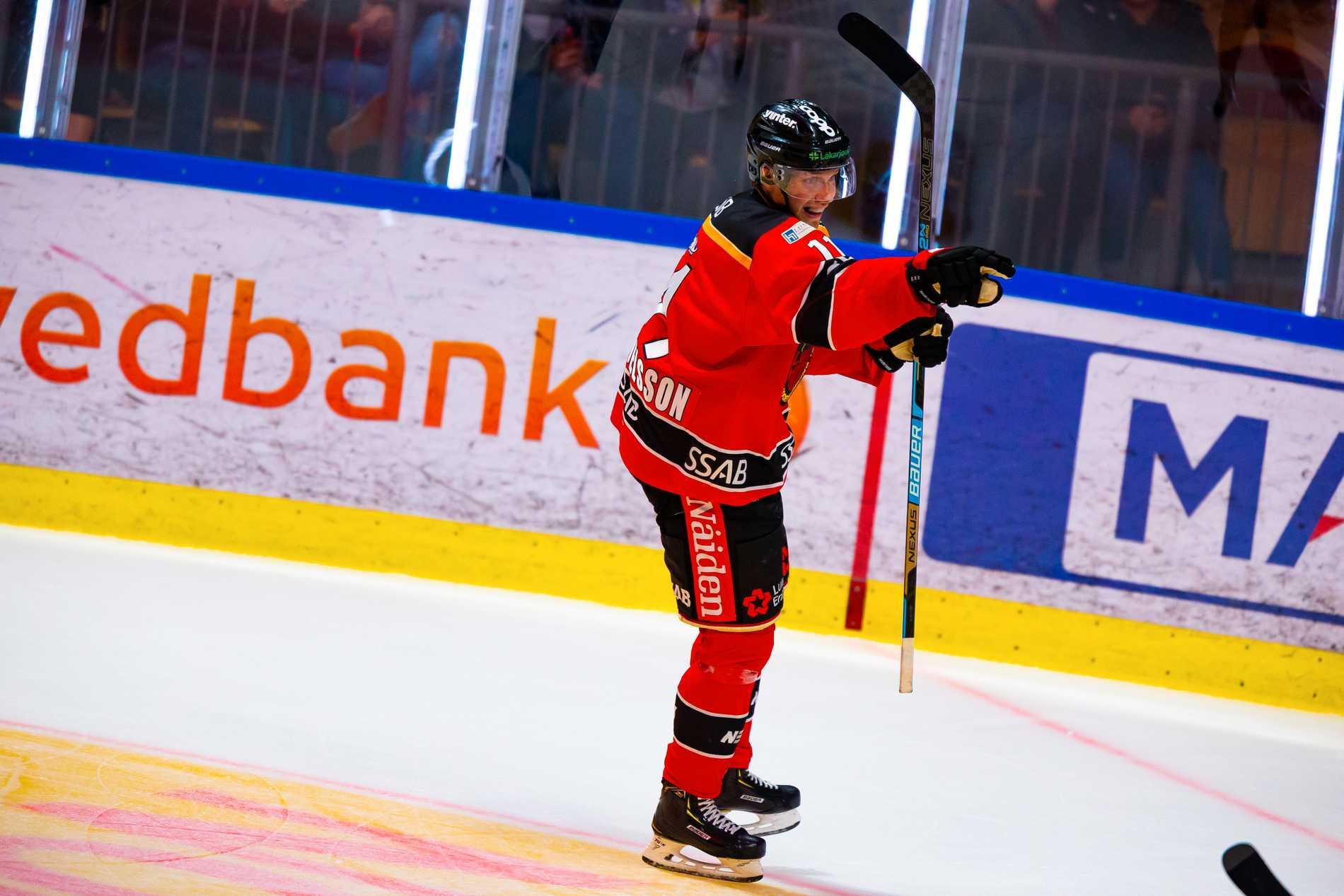 Luleå vann toppmötet med Färjestad
