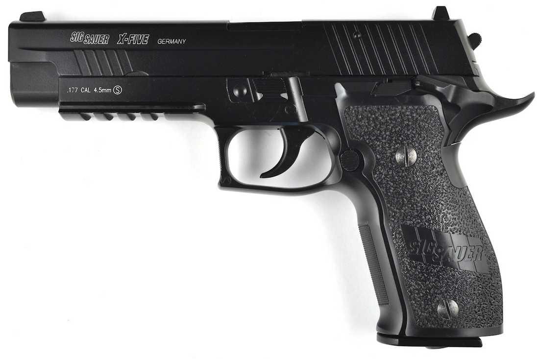 En Sig Sauer 9 mm, ett av de vapen som Nancy Lanza använde.