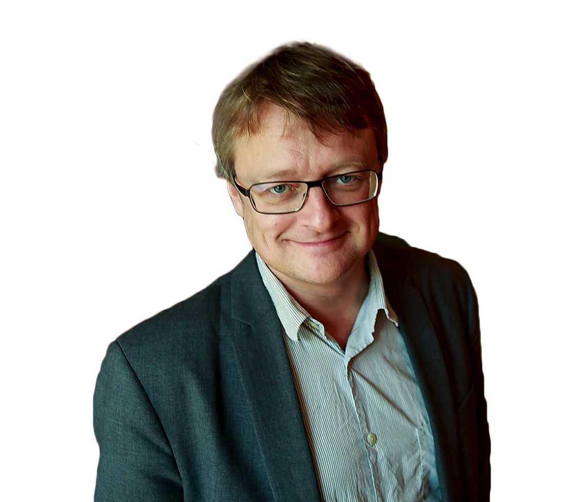 Dan Josefsson, journalist och författare.