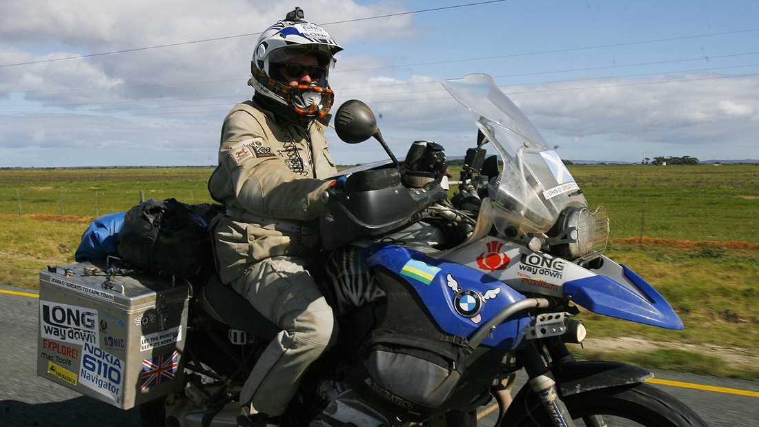 År 2007 körde Ewan McGregor och skådespelarkollegan Charley Boorman motorcykel från Skottland till Afrikas sydligaste udde Cape L'Agulhas utanför Kapstaden i Sydafrika. Resan tog 85 dagar.