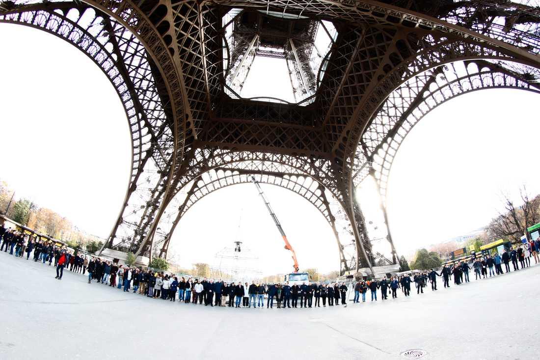 Tyst minut Paris