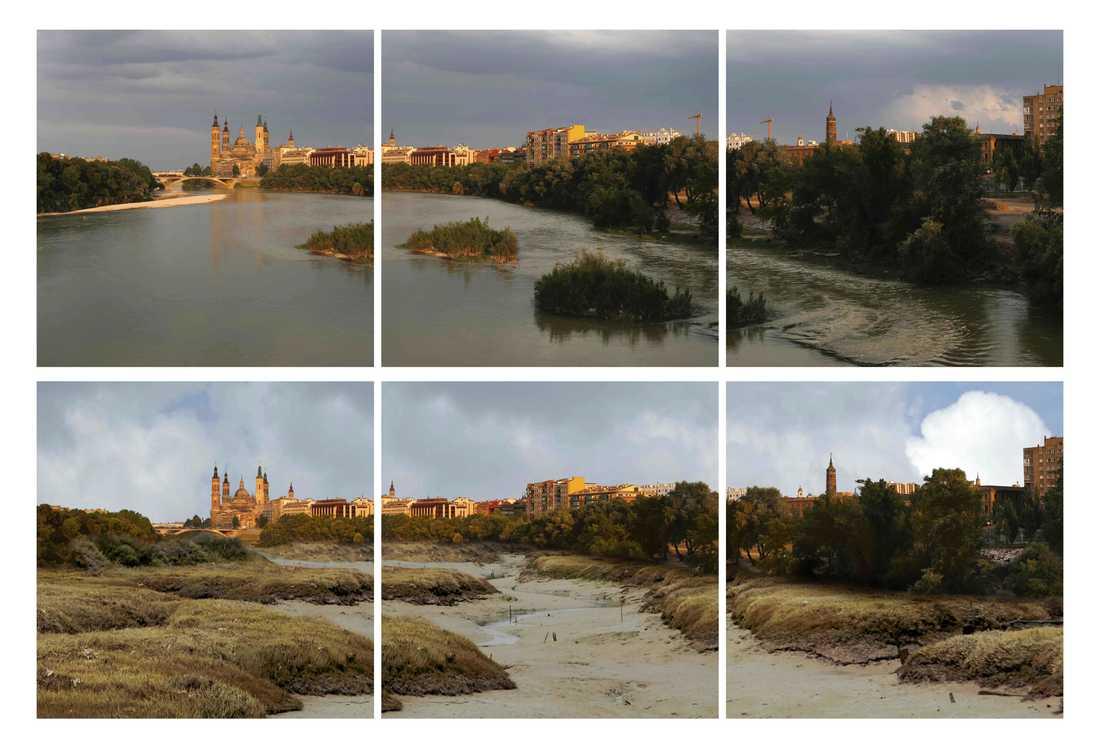 Enligt Greenpeace riskerar de flesta floderna i Spanien att torka ut i framtiden.