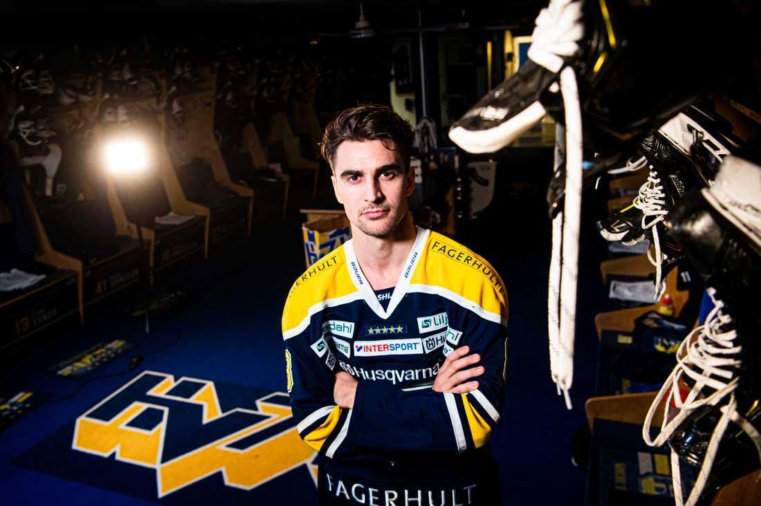 Nils Andersson är ambassadör för HV71