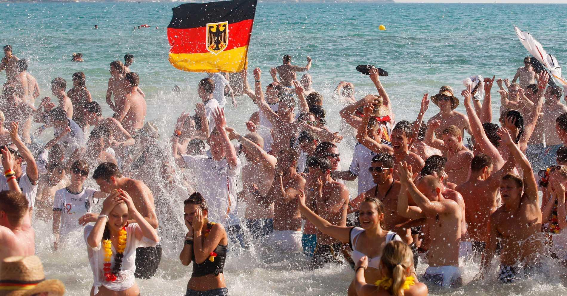 5 000 tyskar i stort turistexperiment på Mallorca