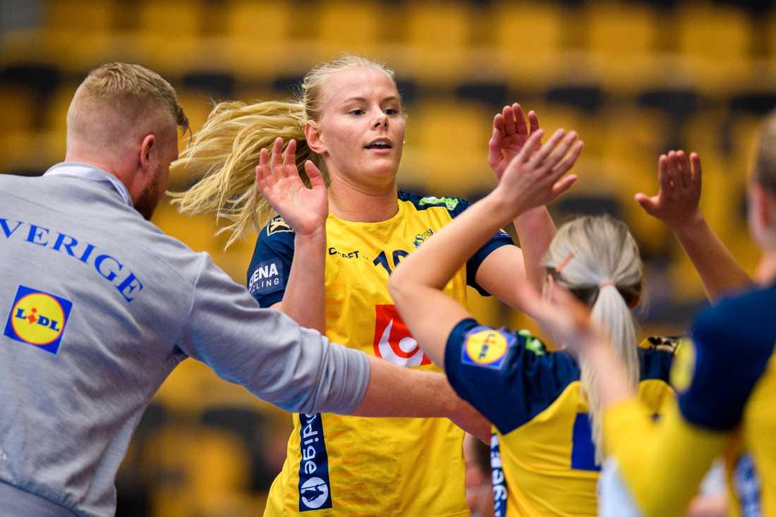 Nina Koppang gjorde succé i debuten.