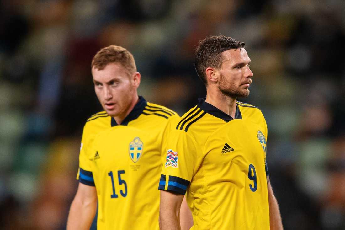 Dejan Kulusevski och Marcus Berg.