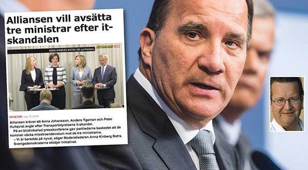 Det finns ett mellanläge för Stefan Löfven, mellan att blåsa runt för nyckfulla vindar, eller kasta sig in i en omtumlande offensiv. Det är att avgå, låta riksdagen bestämma vad som gäller, skriver statsvetaren Stig-Björn Ljunggren.