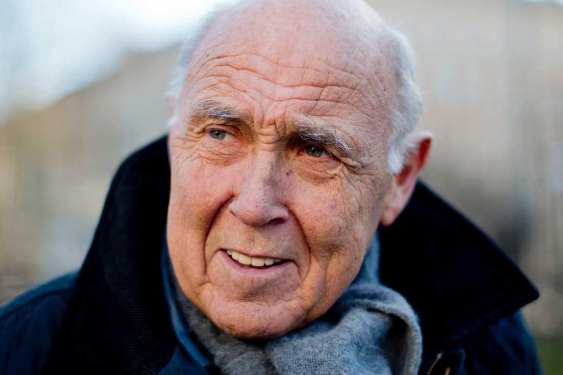 Ingvar Oldsberg är tacksam för stödet från särbon Maria.