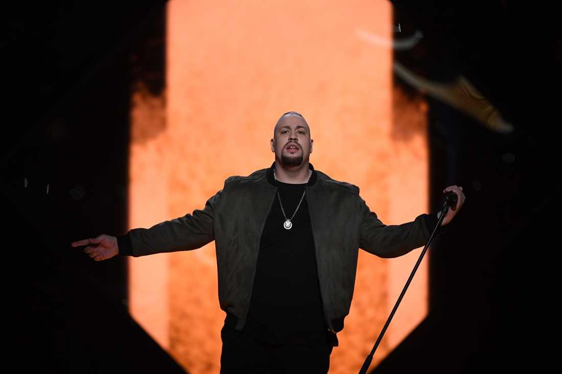 Nano slutade som tvåa i Melodifestivalen 2017.