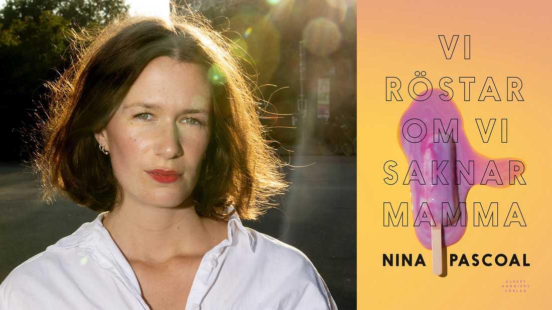 """Nina Pascoal (född 1988) debuterar med """"Vi röstar om vi saknar mamma""""."""