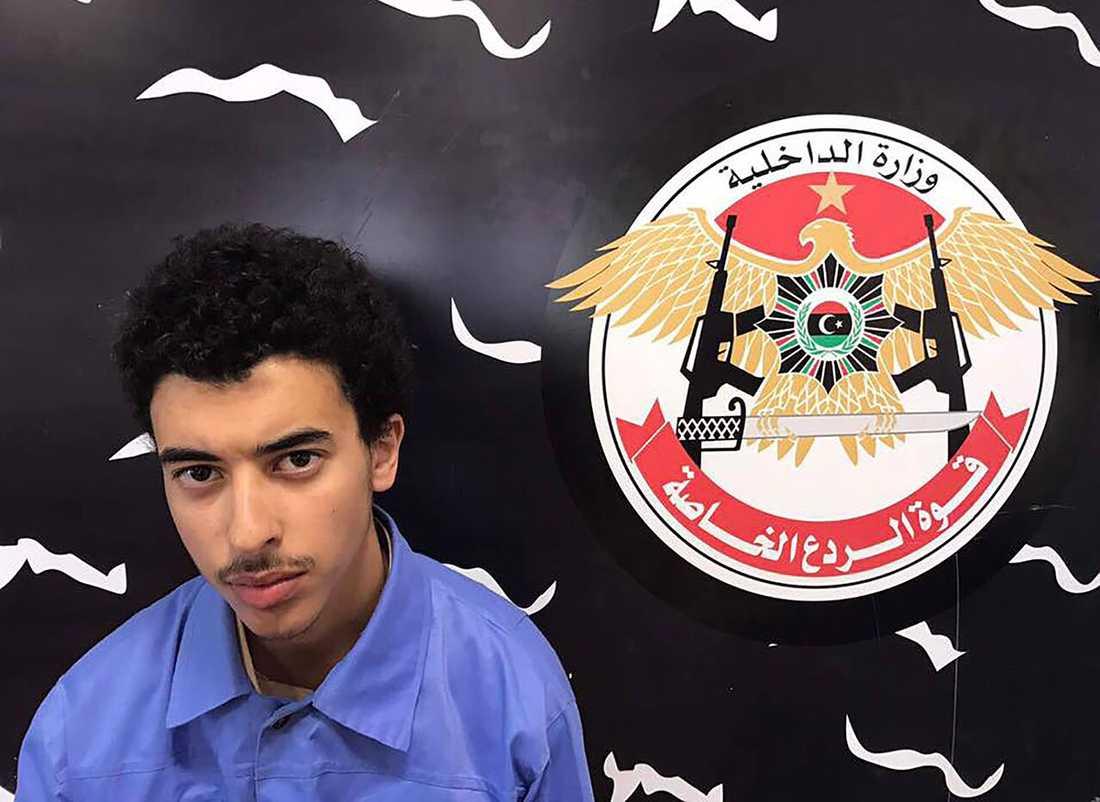 Abedis lillebror som greps i Tripoli, Libyen.