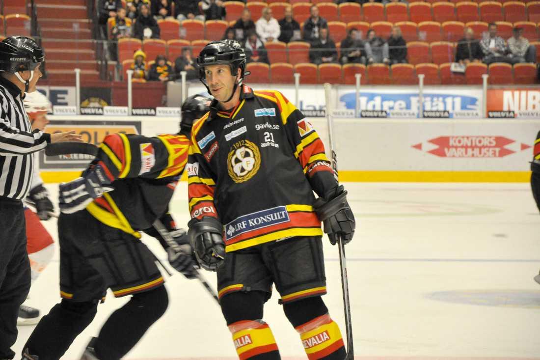 Tom Bissett trivdes när han var tillbaka i Gävle för att hylla Ove Molin.