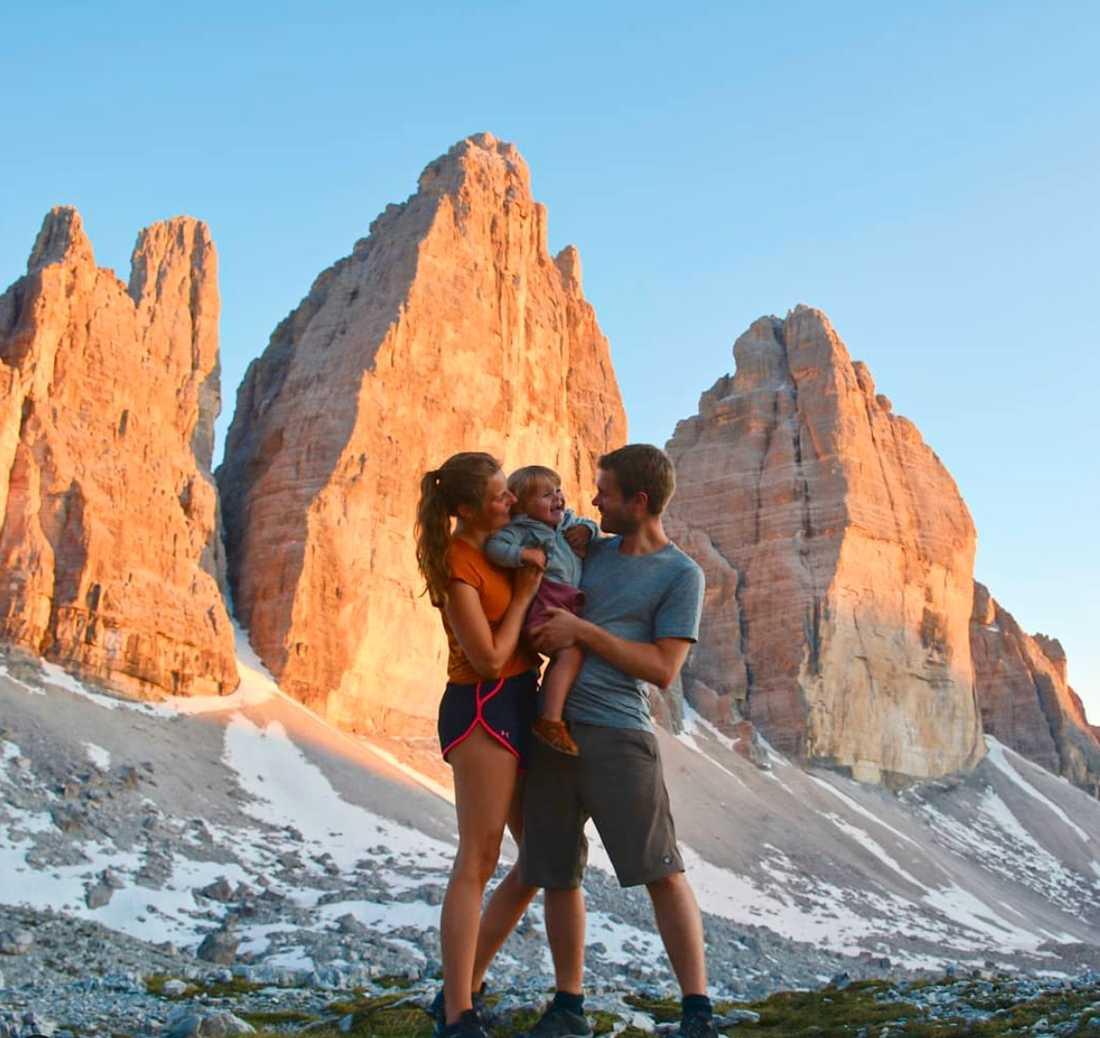 Dolomiterna i Italien