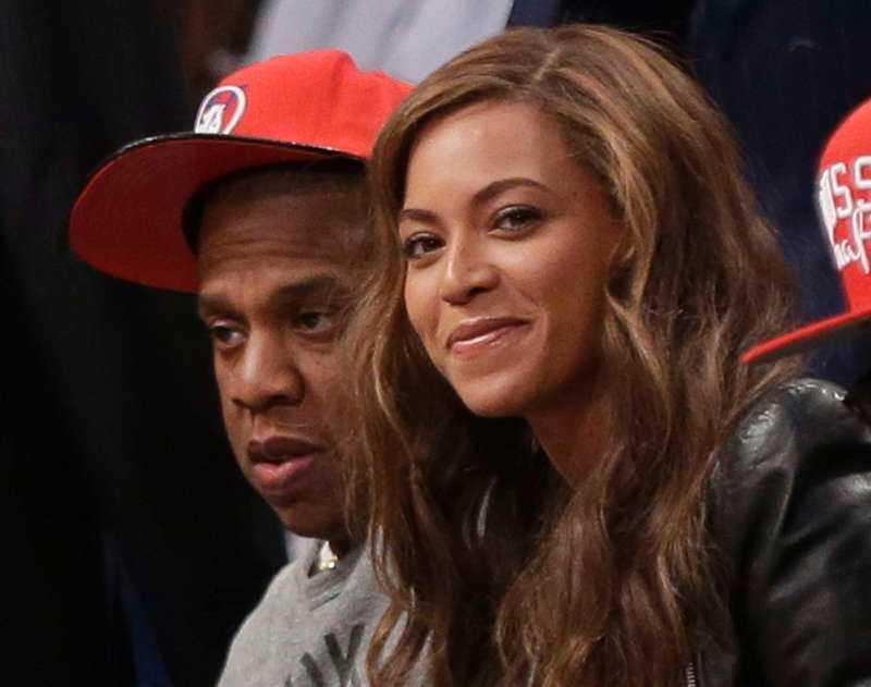 Jay-Z och Beyoncé.