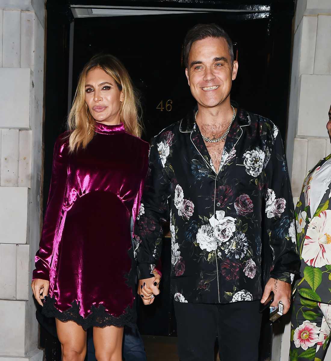 Robbie Williams och Ayda Field har fått nytt barn i hemlighet.
