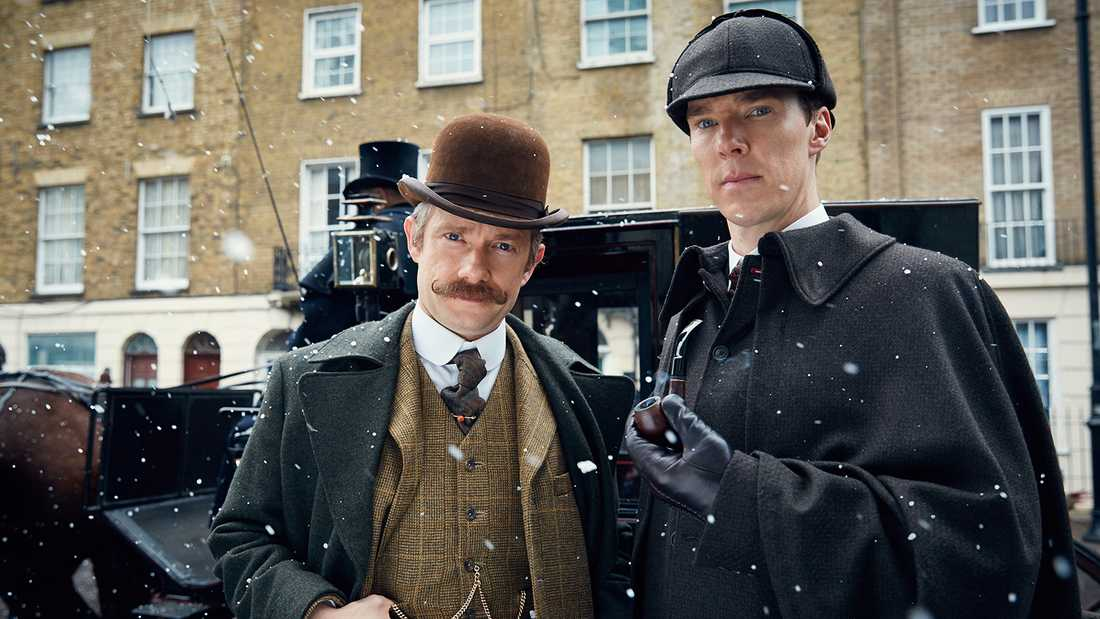 "Benedict Cumberbatch i ""Sherlock""."