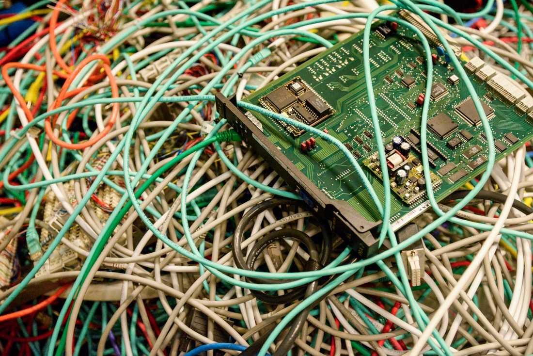 Bly i lödningar i elektronik har Kemikalieinspektionen upptäckt i en granskning. Arkivbild.