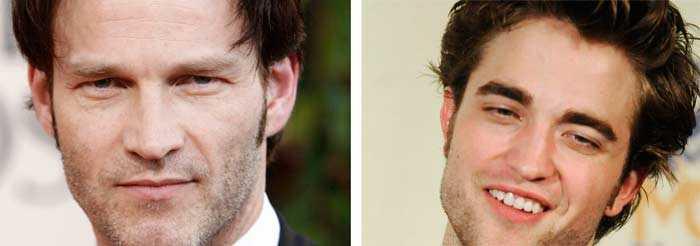 Stephen Moyer (tv) i True Blood tycker inte om vampyrkonkurrenten Robert Pattinson.