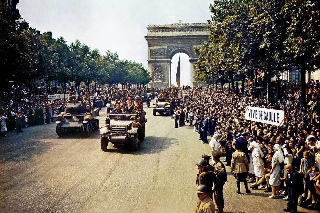 26 augusti 1944, befrielsen av Paris.