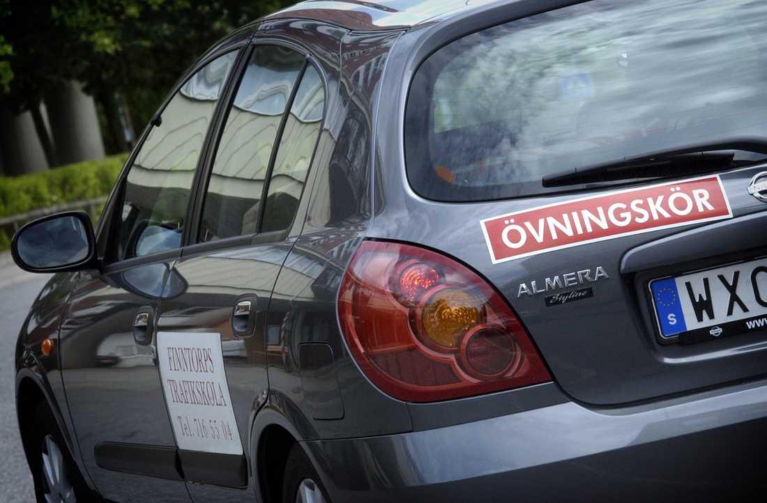 Systemet för körkortsutbildningarna görs om. Arkivbild.