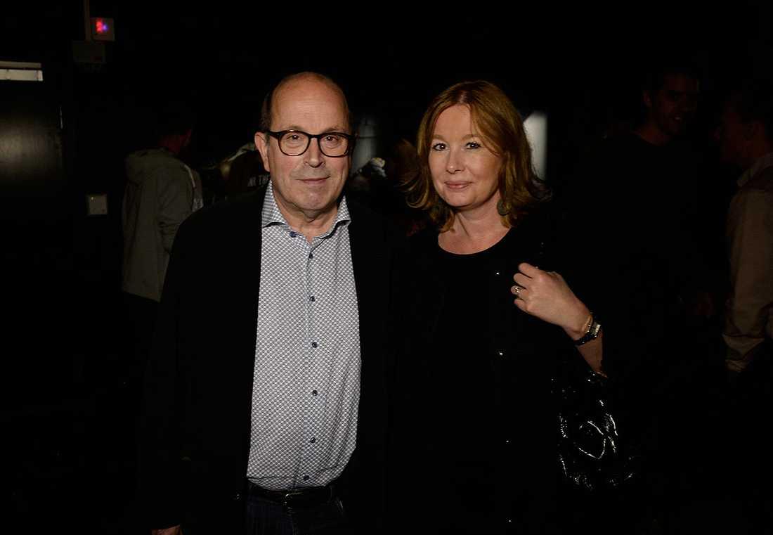 Aftonbladet TV:s affärsområdeschef Jan Scherman var på utställningen med Aftonbladets kulturchef Åsa Linderborg.