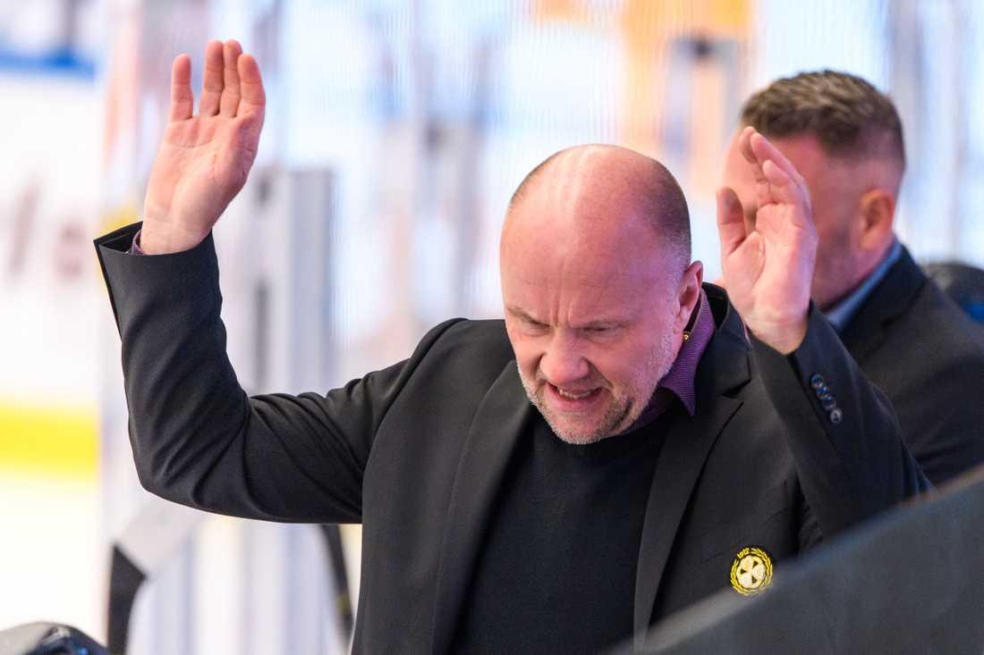 Brynäs tränare Peter Andersson.