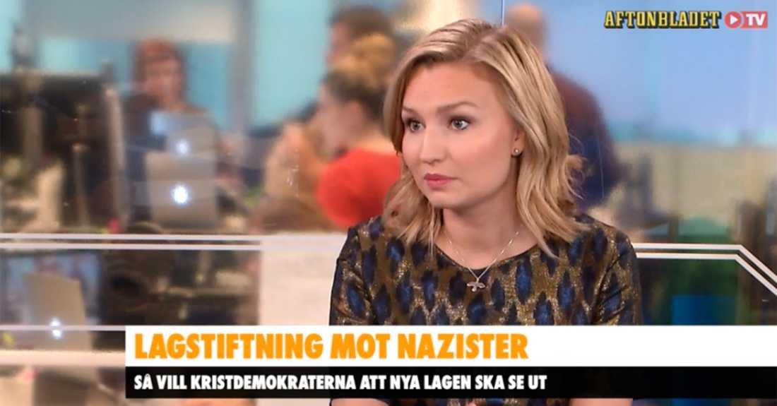 KD-ledaren i Aftonbladet Morgon.
