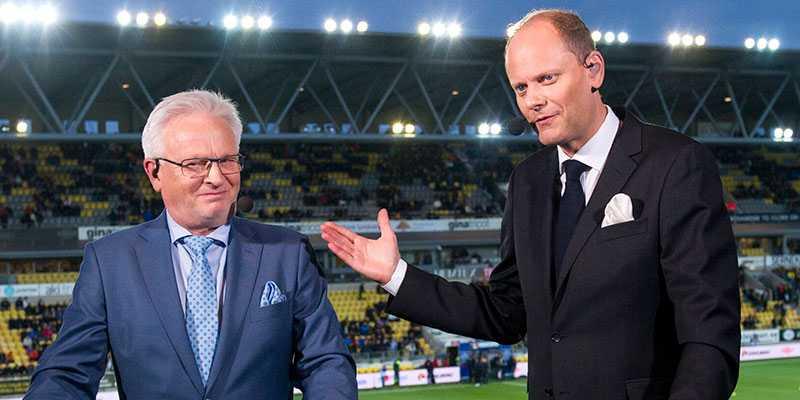 """Hasse Backe och Lasse Granqvist tog ledigt från tv-jobben och åkte och såg sin delägda häst vinna miljonloppet i USA: """"För både mig och Lasse blir det säkert bara en gång i livet vi får möjlighet att uppleva detta"""", säger Hasse Backe."""