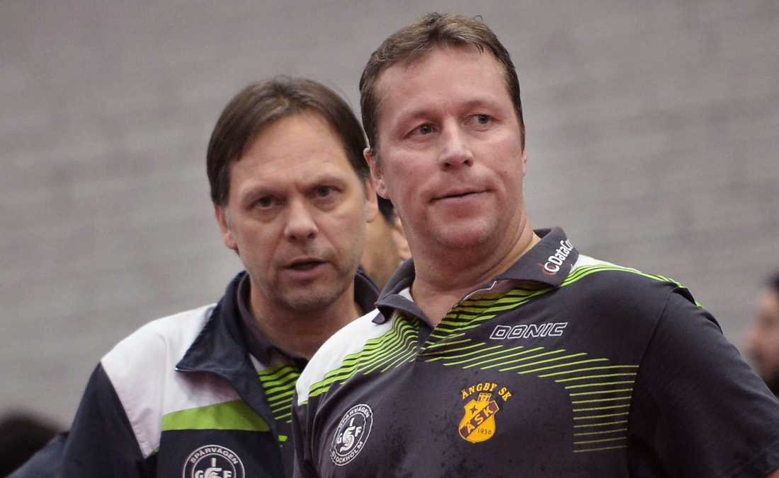 Mikael Appelgren och Jan-Ove Waldner