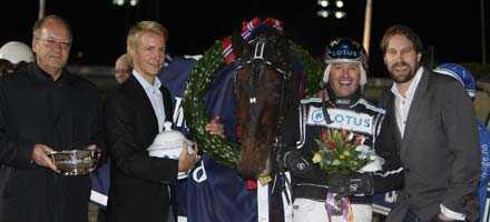"""Adrian Chip är den häst med bäst segerprocent i omgången. Får """"Foppa"""" besöka vinnarcirkeln igen? Svaret får vi på lördag."""