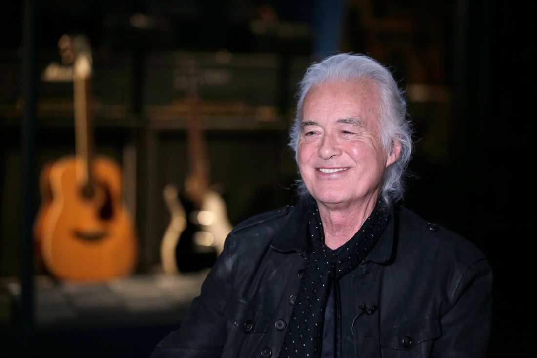 Led Zeppelins låtskrivare Jimmy Page (bilden) och Robert Plant har i flera år varit involverade i ett plagiatbråk. Arkivibld.