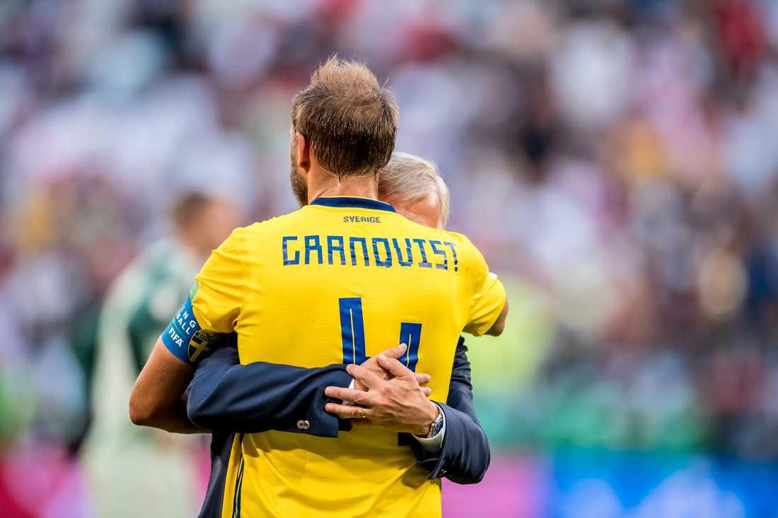 Richt kramar om Andreas Granqvist.