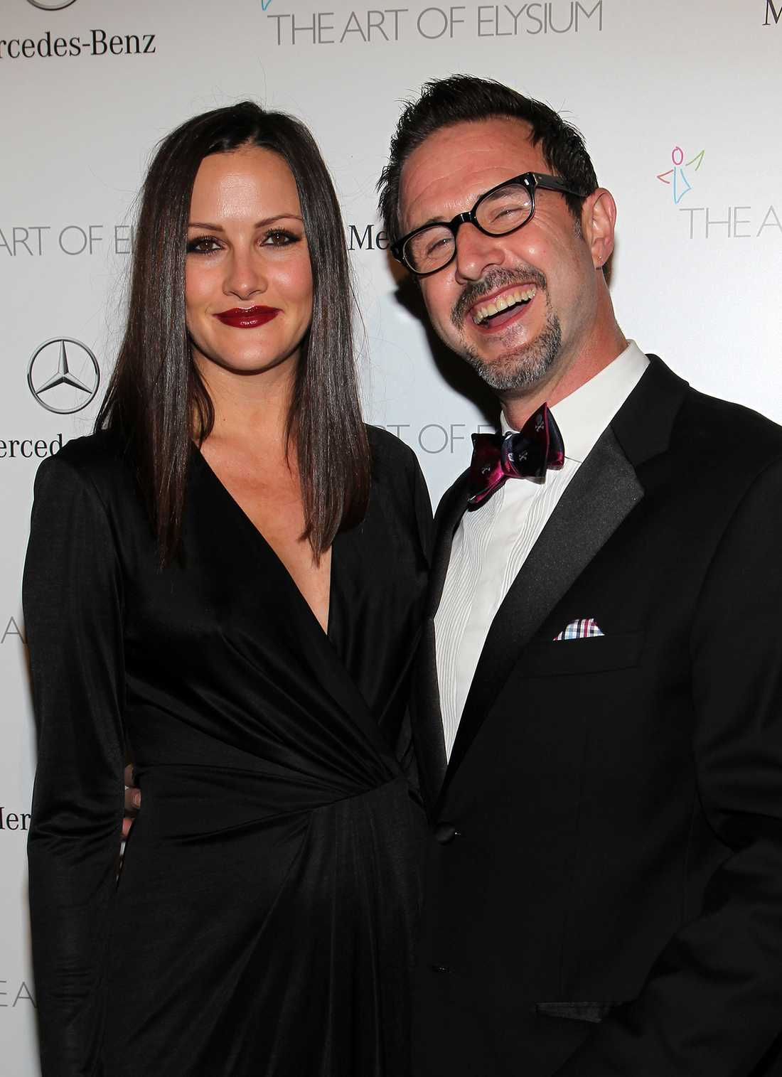Christina McLarty och David Arquette.