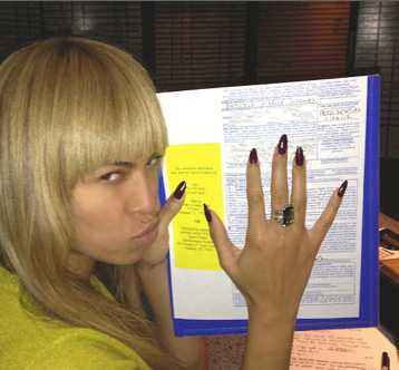 Beyoncé röstade med klös.