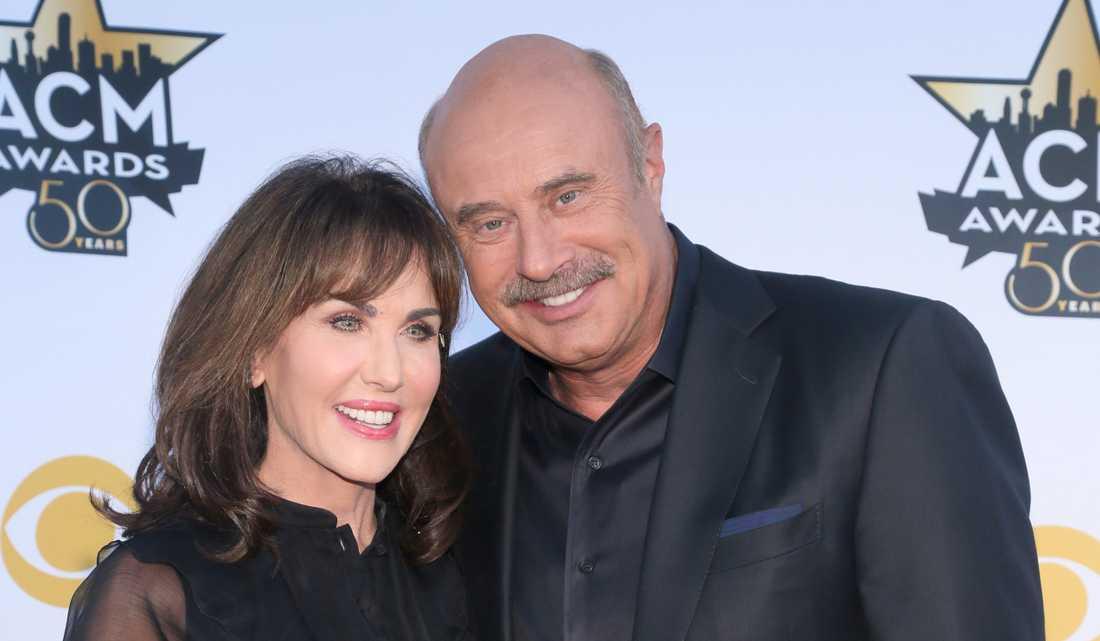 Dr Phil och hustrun Robin McGraw.