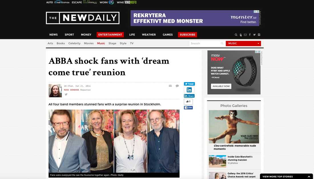 Australiska The New Daily.