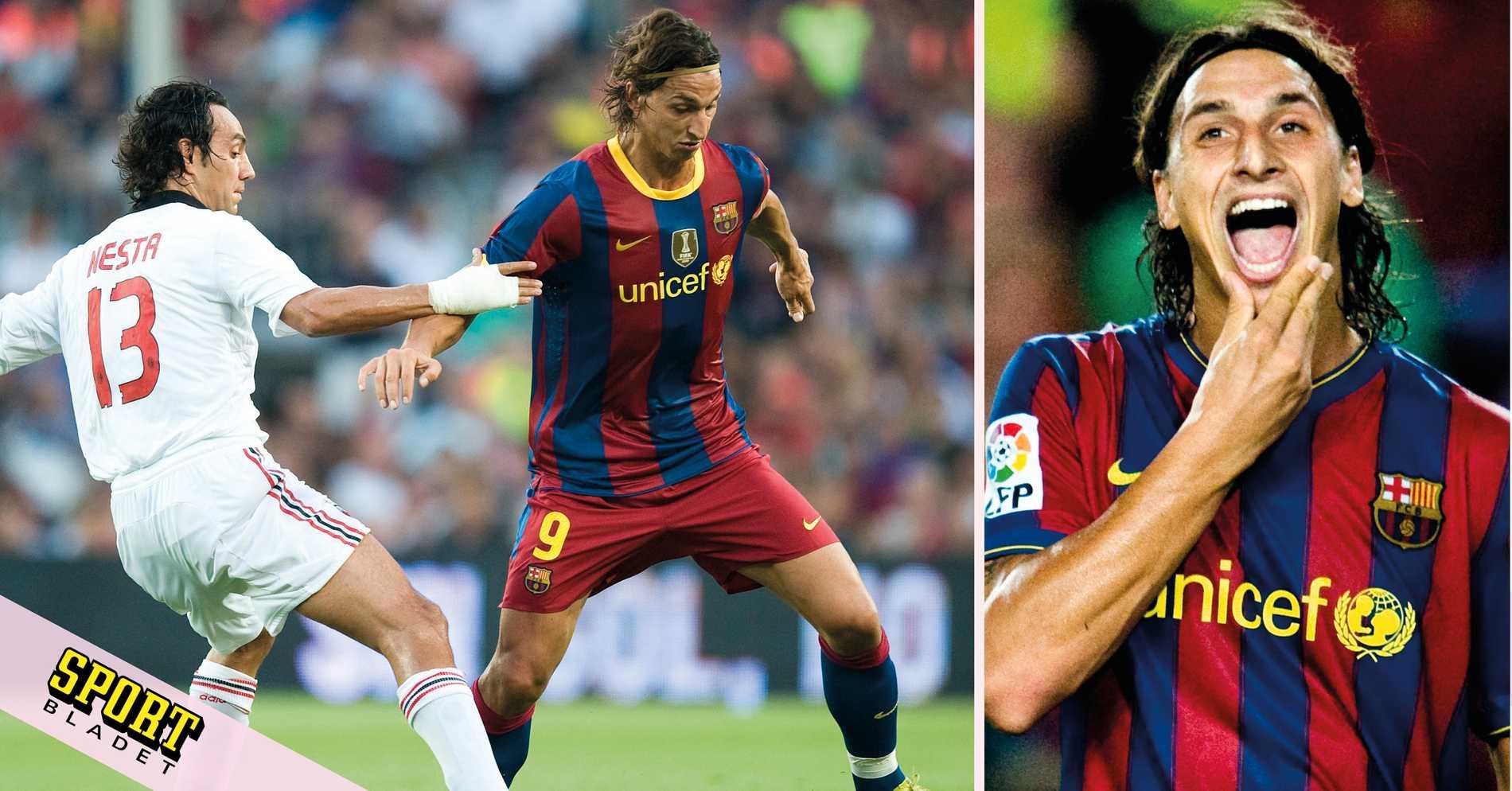 Zlatan utnämnd till en av Barcelonas största floppvärvningar