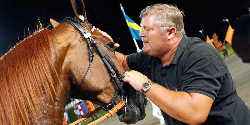 Snart tillsammans igen, tränarlegendaren Stefan Hultman och stjärnhästen Nimbus C.D.