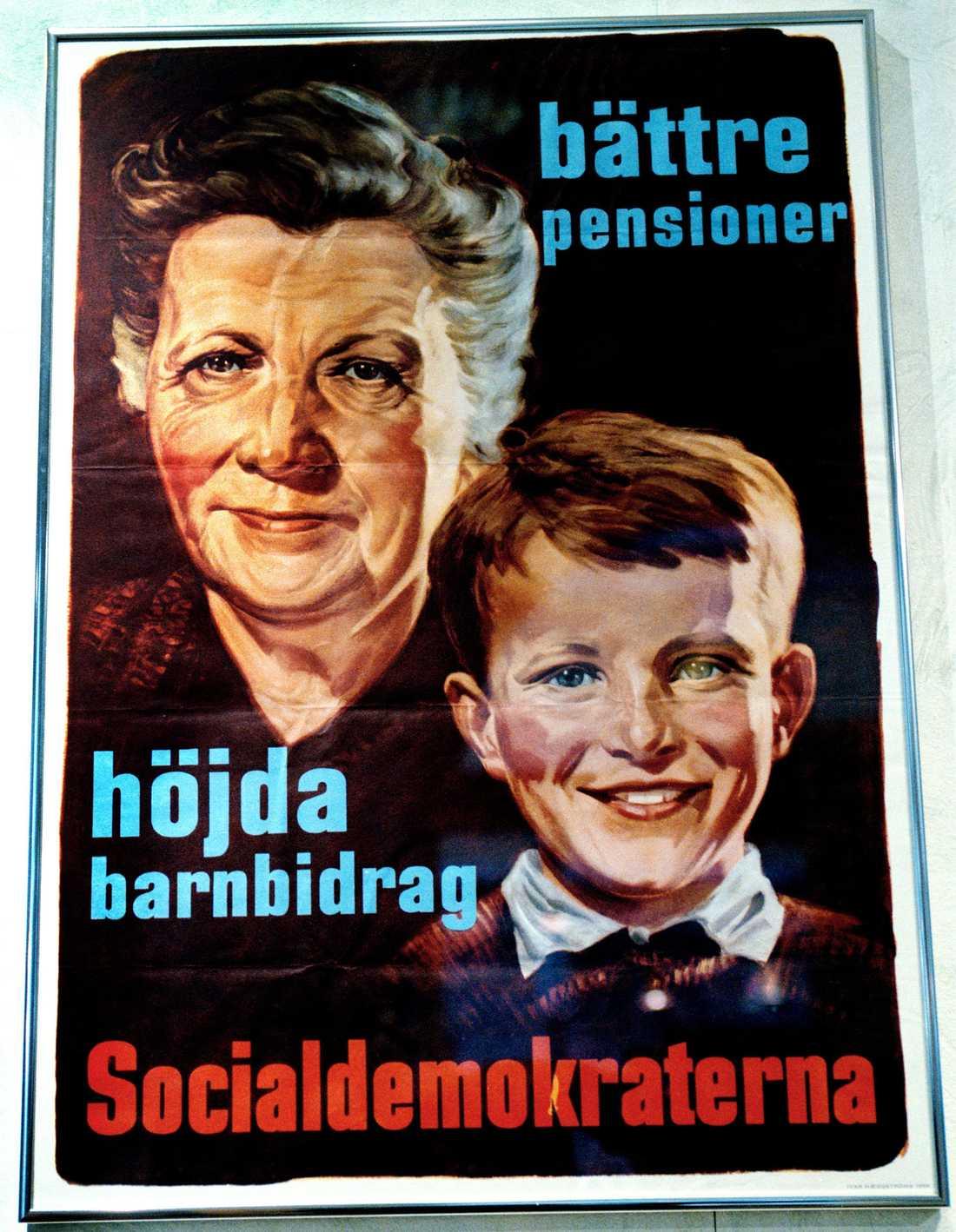 Socialdemokraterna 50–tal Fotodatum okänt.