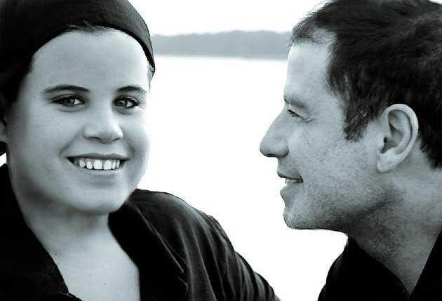 John Travoltas son, Jett, dog på semestern i Bahamas.