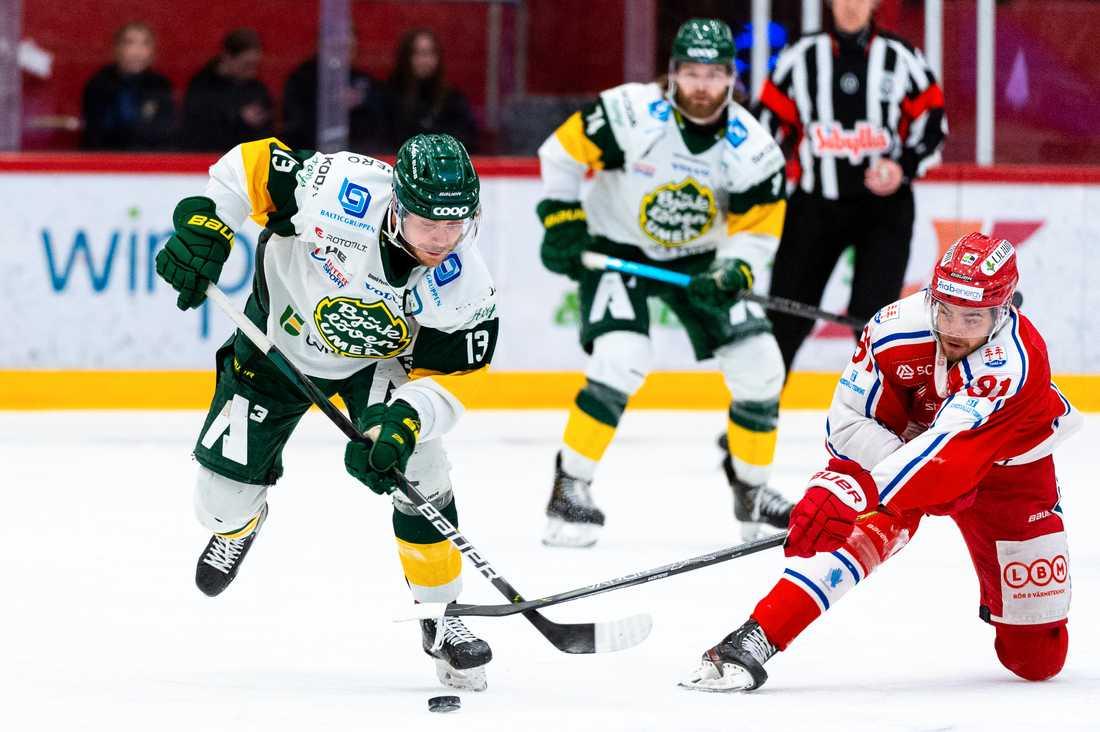 Hockeyallsvenska finalen pausas efter coronautbrott i Björklöven.