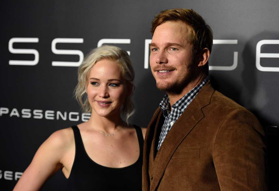 Det har tisslats och tasslats om Jennifer Lawrence och Chris Pratt.
