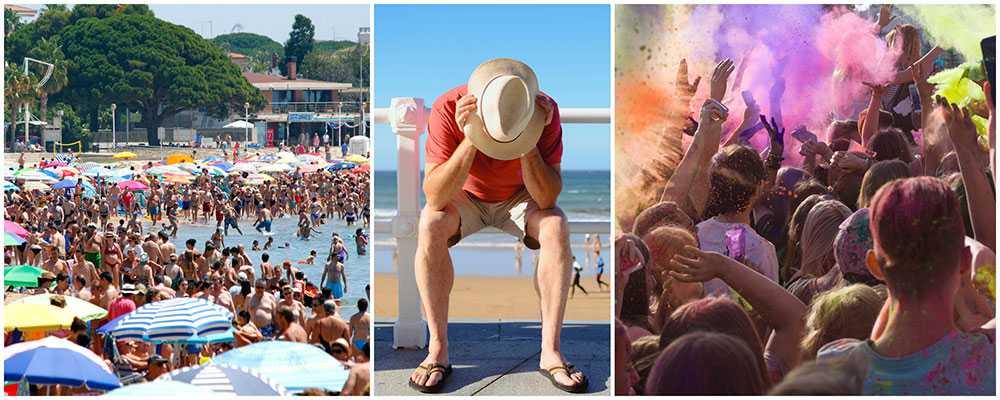 Turisterna ratar Spanien och väljer andra resmål.