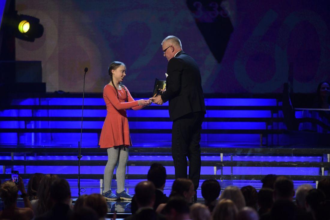 Greta, 16 år, hyllas för sitt tal på Idrottsgalan: Kul