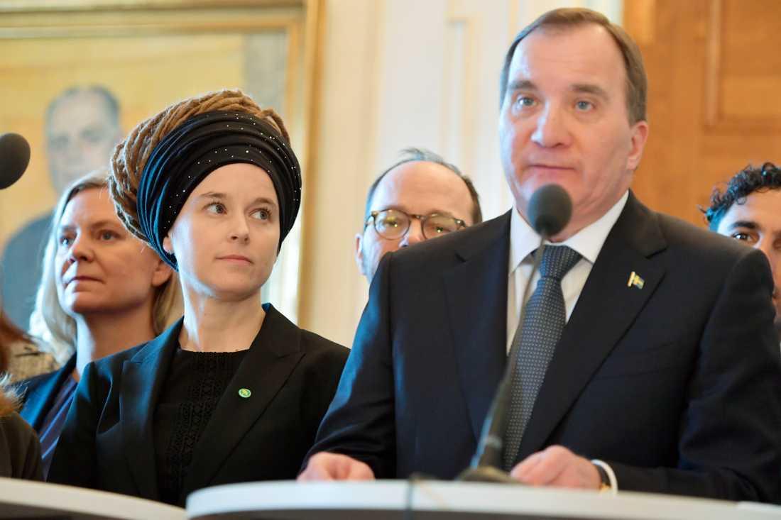 Amanda Lind, MP, är Stefan Löfvens nya kulturminister.