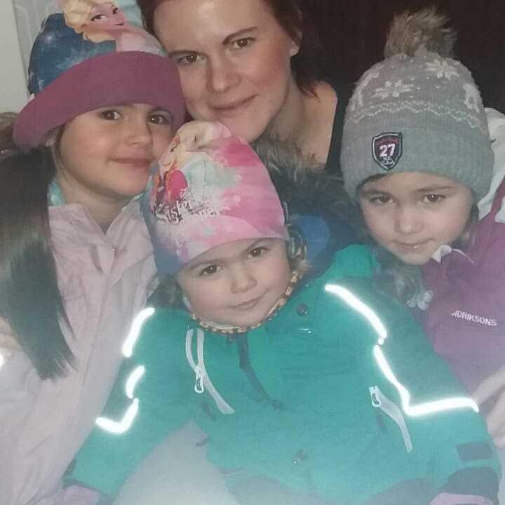 Blivande fembarnsmamman Malin Modin, 29, och hennes sambo planerar för att bo i Sundsvall någon vecka innan beräknad förlossning i mars.