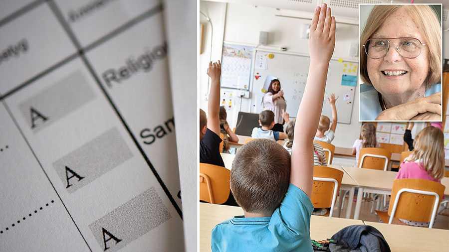 Flumskolans företrädare har anfört, och fortsätter göra det, att betyg kan skada barnet. Men detta är att blanda ihop människovärde med bedömning av en prestation., skriver Barbara Bergström, grundare av Internationella Engelska Skolan.