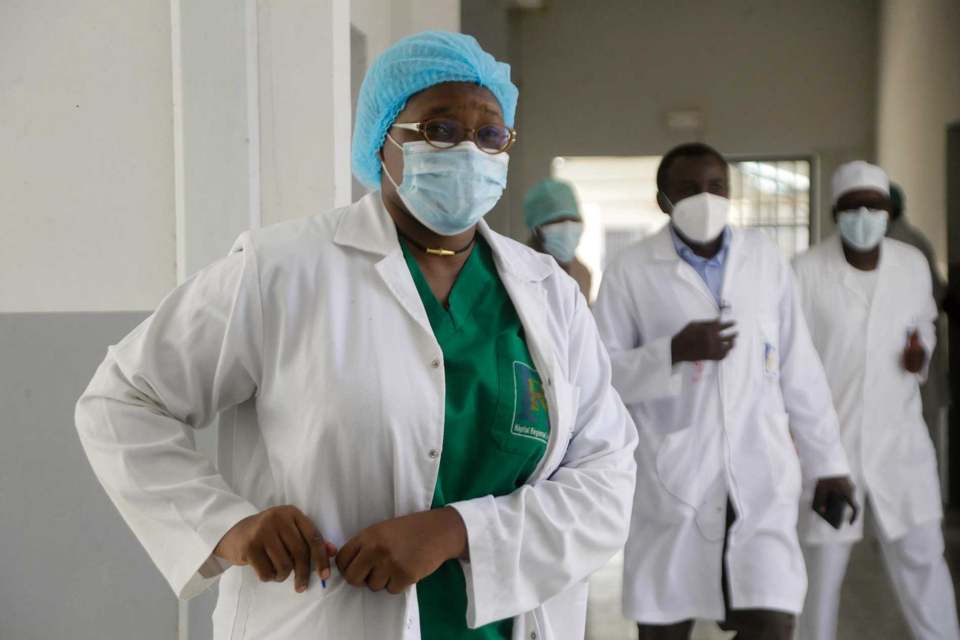 Läkaren Oumaima Djarmas jobbar på the Farcha provincial hospital i Tchads huvudstad N´Djamena.