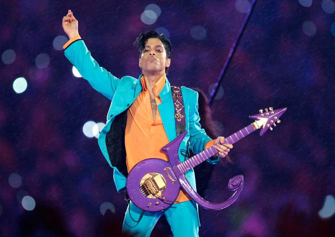 Prince. Arkivbild.