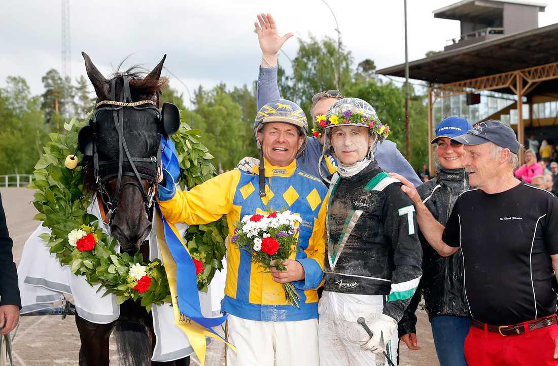 På midsommardagen vann On Track Piraten Midsommarloppet på hemmaplan i Rättvik.